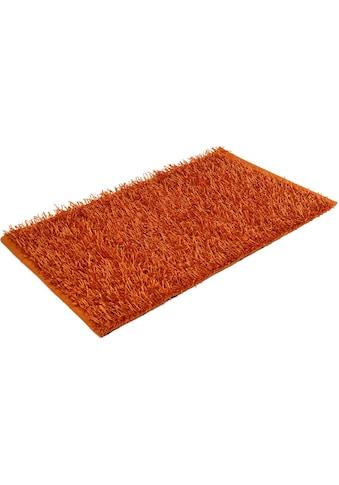 Badematte »Shaggy Uni«, Gözze, Höhe 50 mm, rutschhemmend beschichtet, fußbodenheizungsgeeignet kaufen