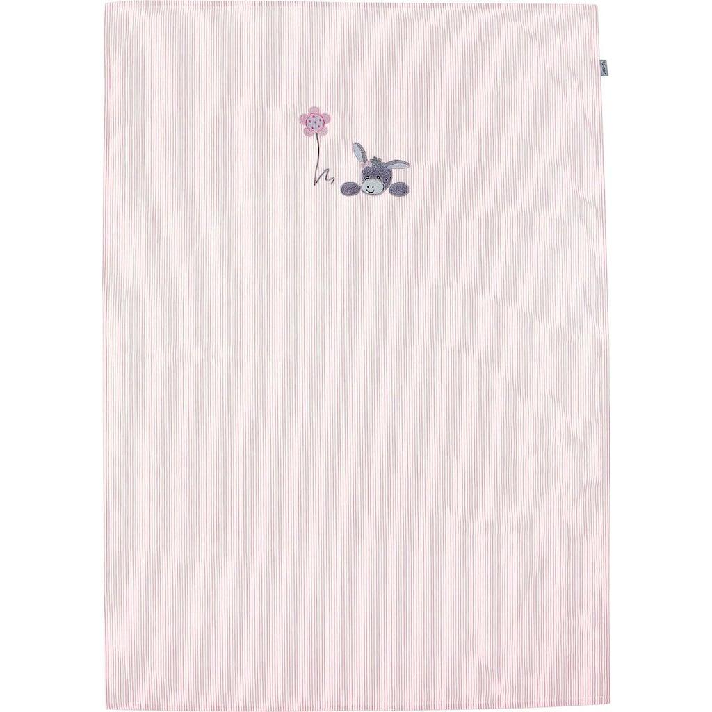 Sterntaler® Babydecke »Emmi Girl«, mit Streifen
