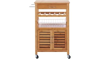Küchenwagen »Bambus«, 56 x 36 x 89 cm kaufen
