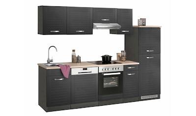 HELD MÖBEL Küchenzeile »Falun«, mit E-Geräten, Breite 270 cm kaufen