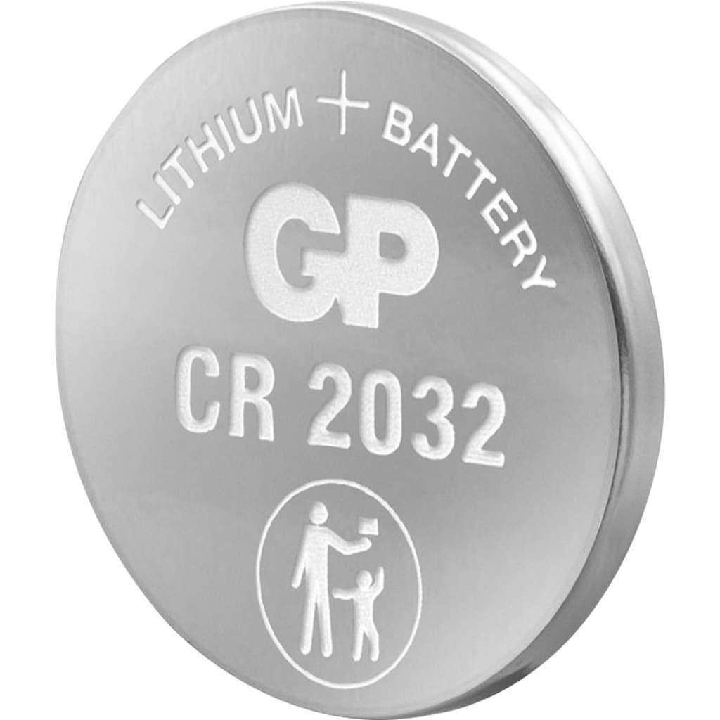 Batterie »CR2032 GP Lithium Knopfzelle 3V 8 Stück«, 3 V