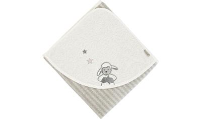 Sterntaler® Badetuch »Stanley«, (1 St.), mit Schaf und Sternen kaufen