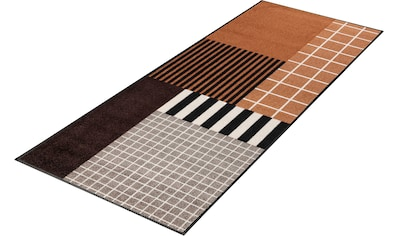 Läufer, »Tastiera«, wash+dry by Kleen - Tex, rechteckig, Höhe 7 mm, gedruckt kaufen