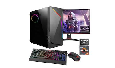 "Hyrican Gaming-PC-Komplettsystem »Onyx SET02132«, inklusive 24"" Monitor AOC C24G2AE/BK kaufen"