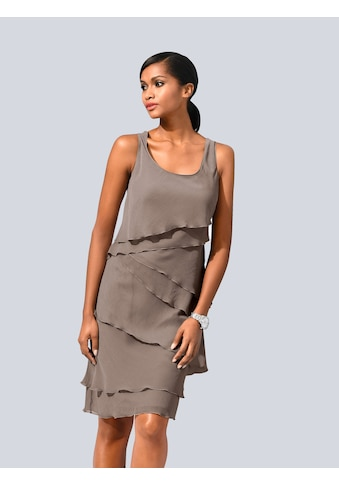 Alba Moda Kleid im modischen Lagenlook kaufen