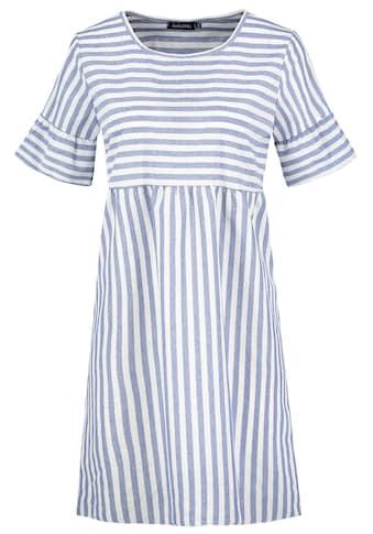 SUBLEVEL A-Linien-Kleid, gestreift kaufen