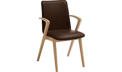 VENJAKOB Esszimmersessel »KATE«, Armlehnstuhl mit hochwertigen Sitzbezügen kaufen