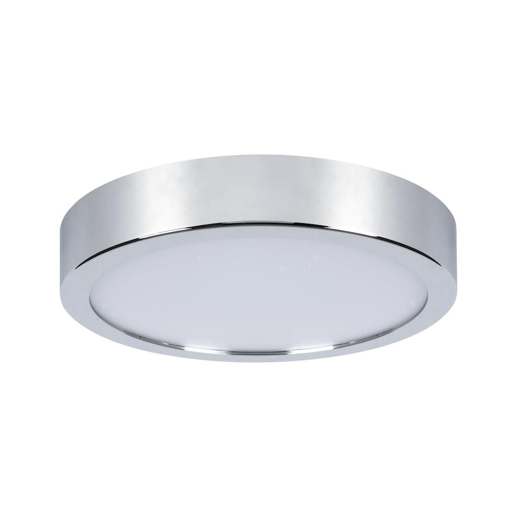 Paulmann LED Deckenleuchte »Panel Aviar rund IP44 220mm 13W 3.000K Chrom«, 1 St., Warmweiß