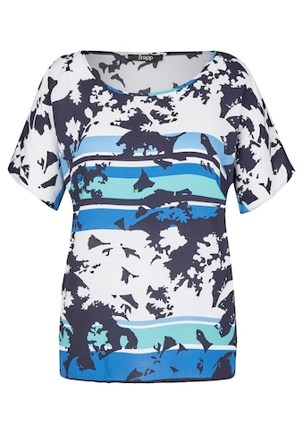 FRAPP Modische Bluse mit Mustermix kaufen