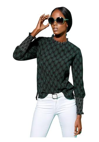 Creation L Bluse im eleganten Minimaldessin kaufen