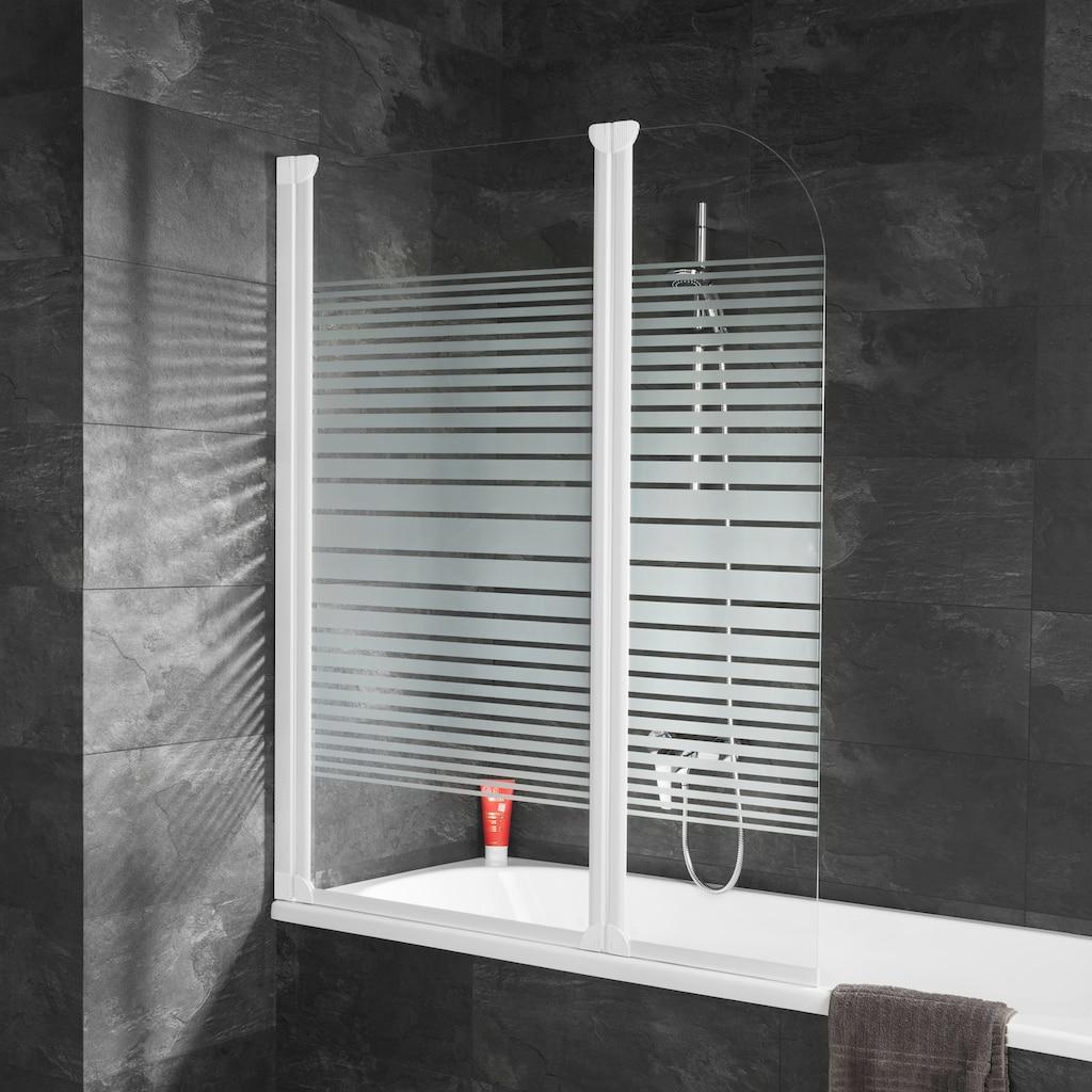 Schulte Badewannenaufsatz »Komfort«, teilgerahmt