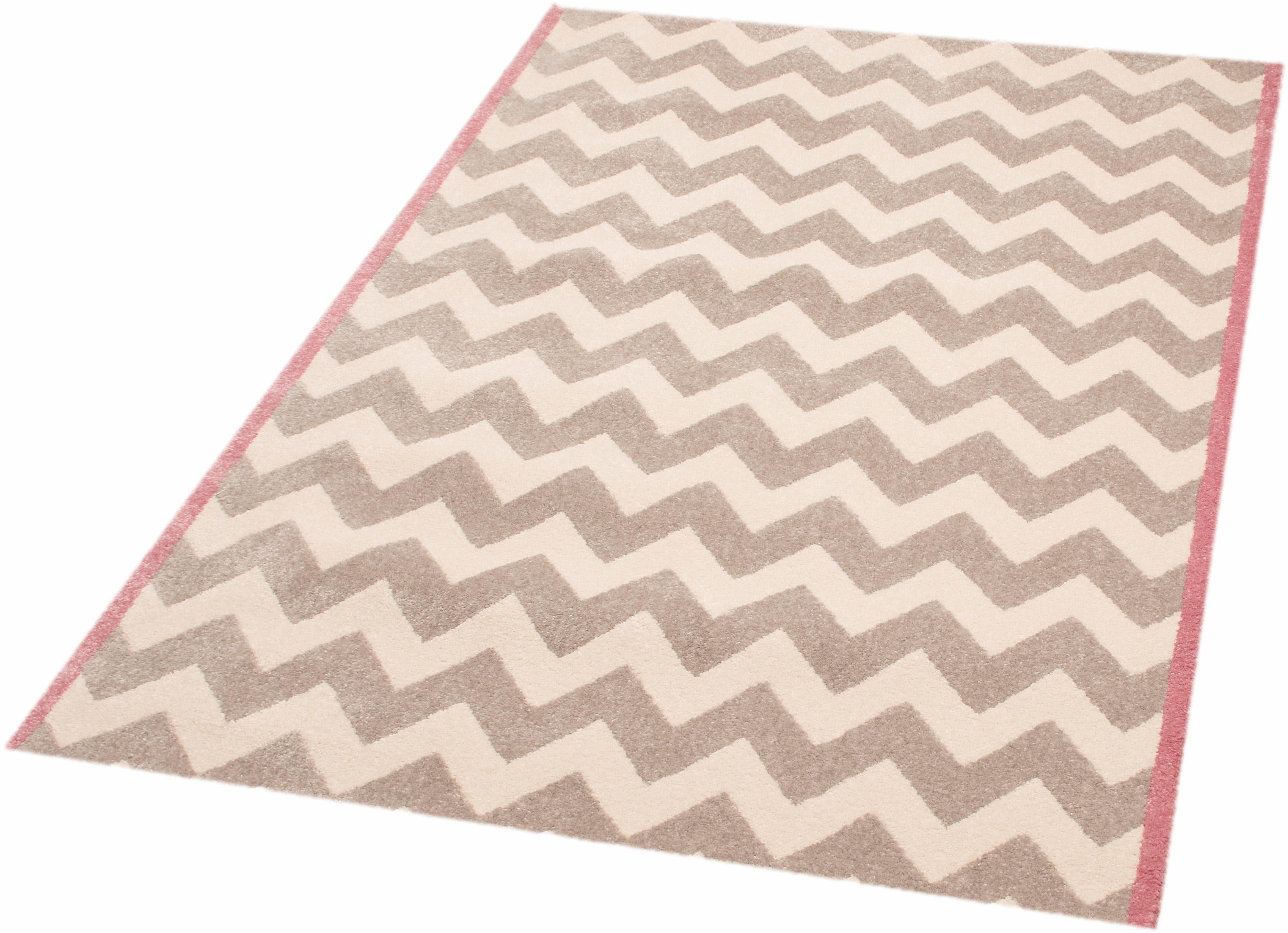 Teppich Zick Zack Suzy Zala Living rechteckig Höhe 11 mm maschinell gewebt