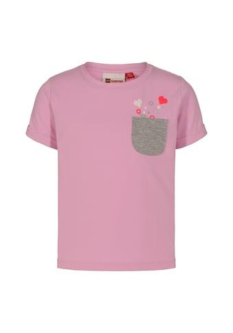 """LEGO® Wear Kurzarmshirt »LWTONJA 301«, """"mit aufgedruckten kleinen Herzen"""" kaufen"""