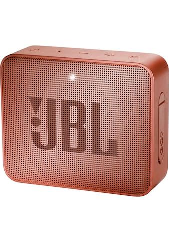 JBL »GO 2 ein« Portable - Lautsprecher (Bluetooth, 3 Watt) kaufen
