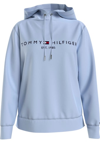 Tommy Hilfiger Kapuzensweatshirt »TH ESS HILFIGER HOODIE LS«, mit gesticktem Tommy... kaufen