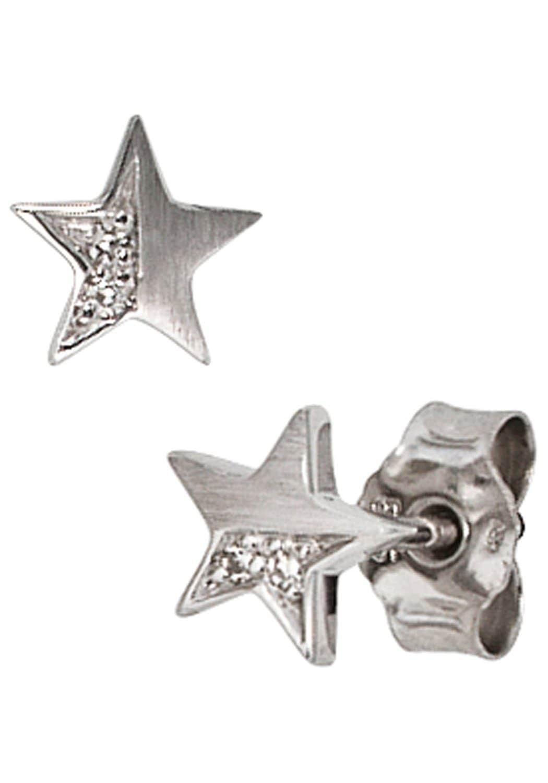 JOBO Paar Ohrstecker Stern