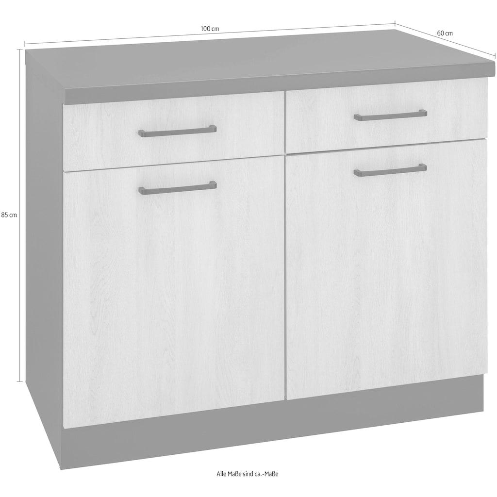 wiho Küchen Unterschrank »Esbo«, 100 cm breit
