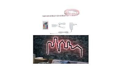 Paulmann LED - Streifen »FlexLED 3D Basisset 1,5m RGB Leuchtschrift selber machen«, 1  - flammig kaufen