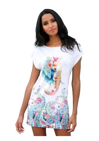 Alba Moda Shirt mit Elefantendruck kaufen