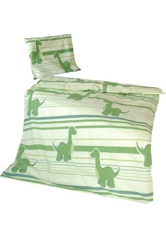 Kinderbettwäsche »Dino«, Goldmond kaufen