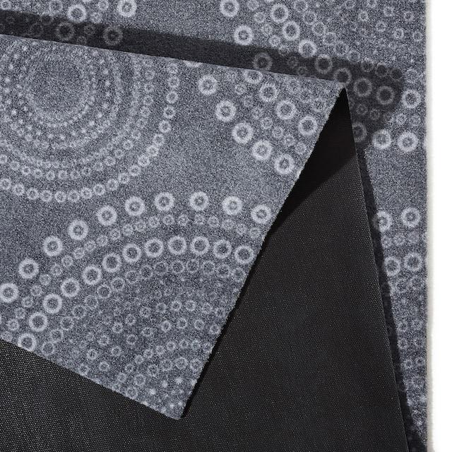 Küchenläufer, »Flower Dots«, Zala Living, rechteckig, Höhe 5 mm, maschinell gewebt