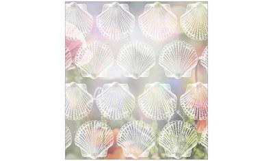 MySpotti Fensterfolie »Look Shells white«, halbtransparent, glattstatisch haftend, 90... kaufen