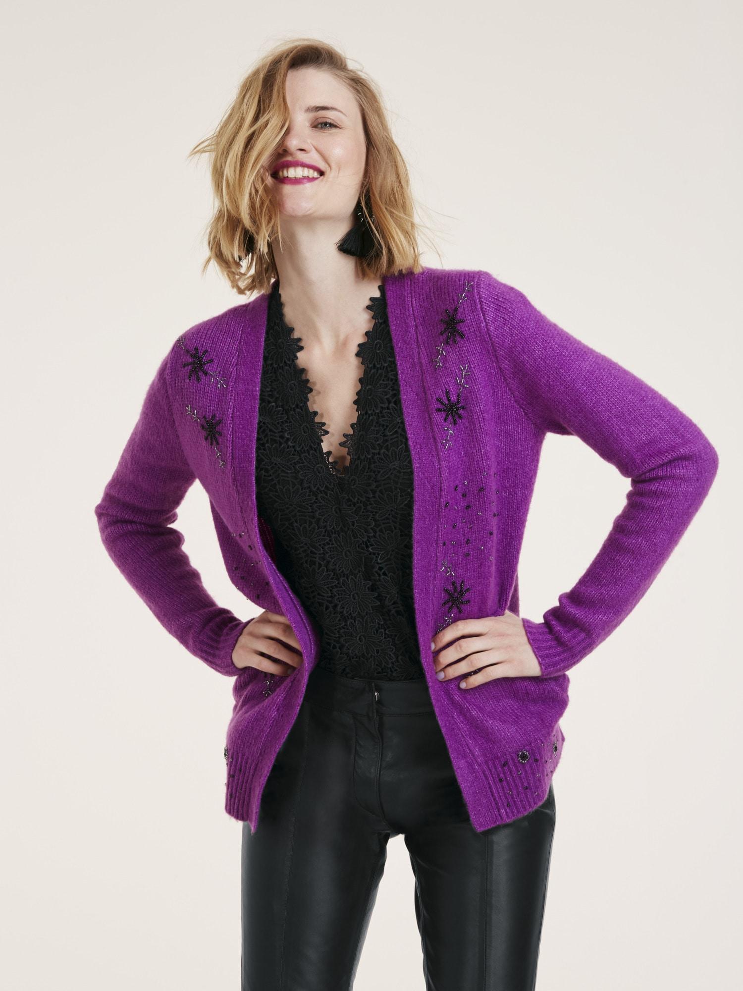 heine -  STYLE Cardigan Mit Wolle