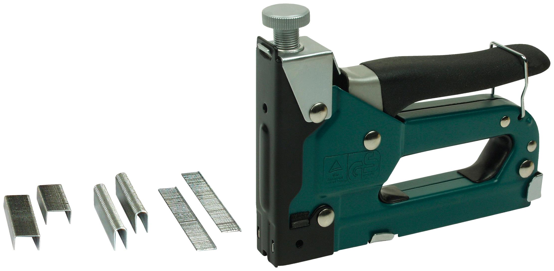 Brüder Mannesmann Werkzeuge Handtacker grün Tacker Werkzeug Maschinen