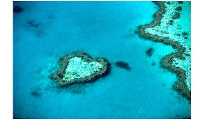 Art & Pleasure Acrylglasbild »Heart island«, Landschaften kaufen