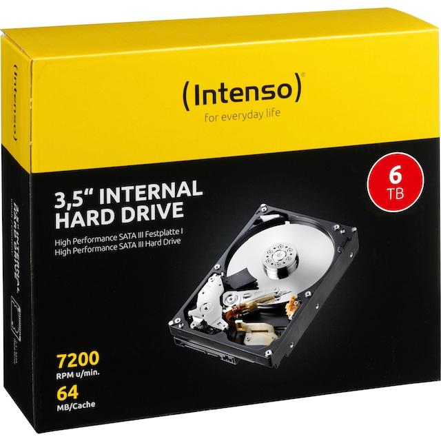 """Intenso »3,5"""" Interne Festplatte« HDD-Festplatte 3,5 ''"""