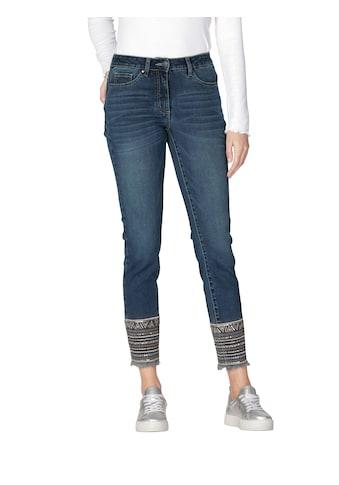 Amy Vermont 5-Pocket-Jeans, mit Stickerei am Saum kaufen