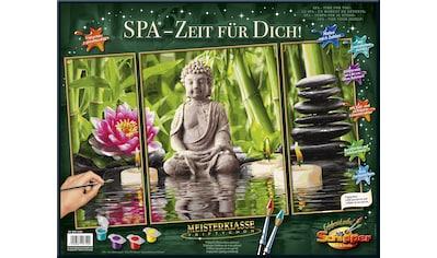 Schipper Malen nach Zahlen »Meisterklasse Triptychon, SPA - Zeit für Dich!«, Made in Germany kaufen