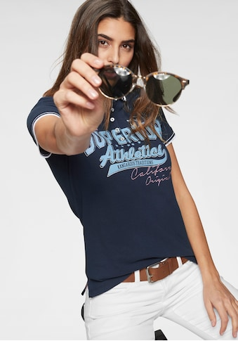 KangaROOS Poloshirt, mit großem Frontdruck kaufen