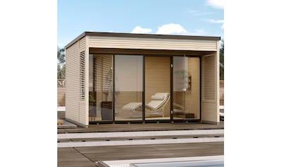 WEKA Gartenhaus »Cubilis 2.0 Gr.2«, BxT: 388x494 cm kaufen