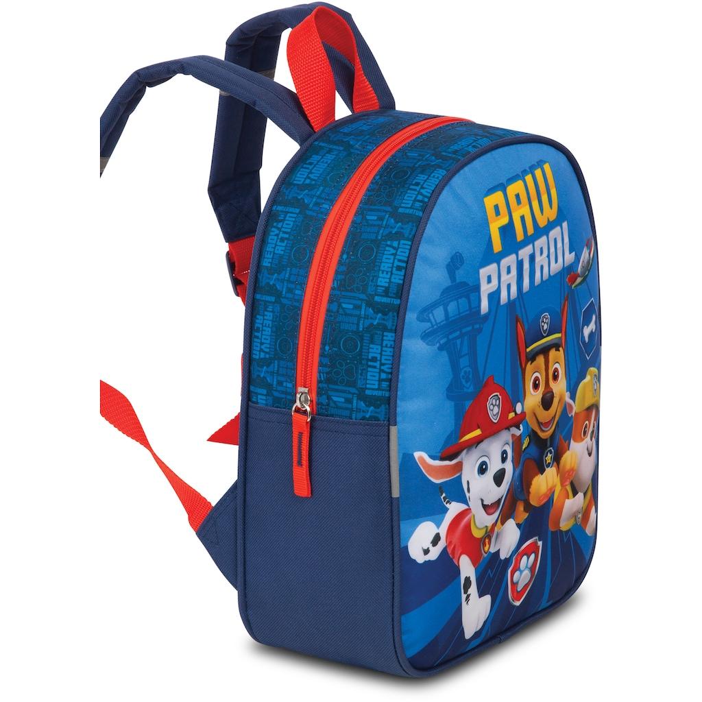 fabrizio® Kinderkoffer »Paw Patrol-Set Rucksack und Trolley, blau«, 2 Rollen