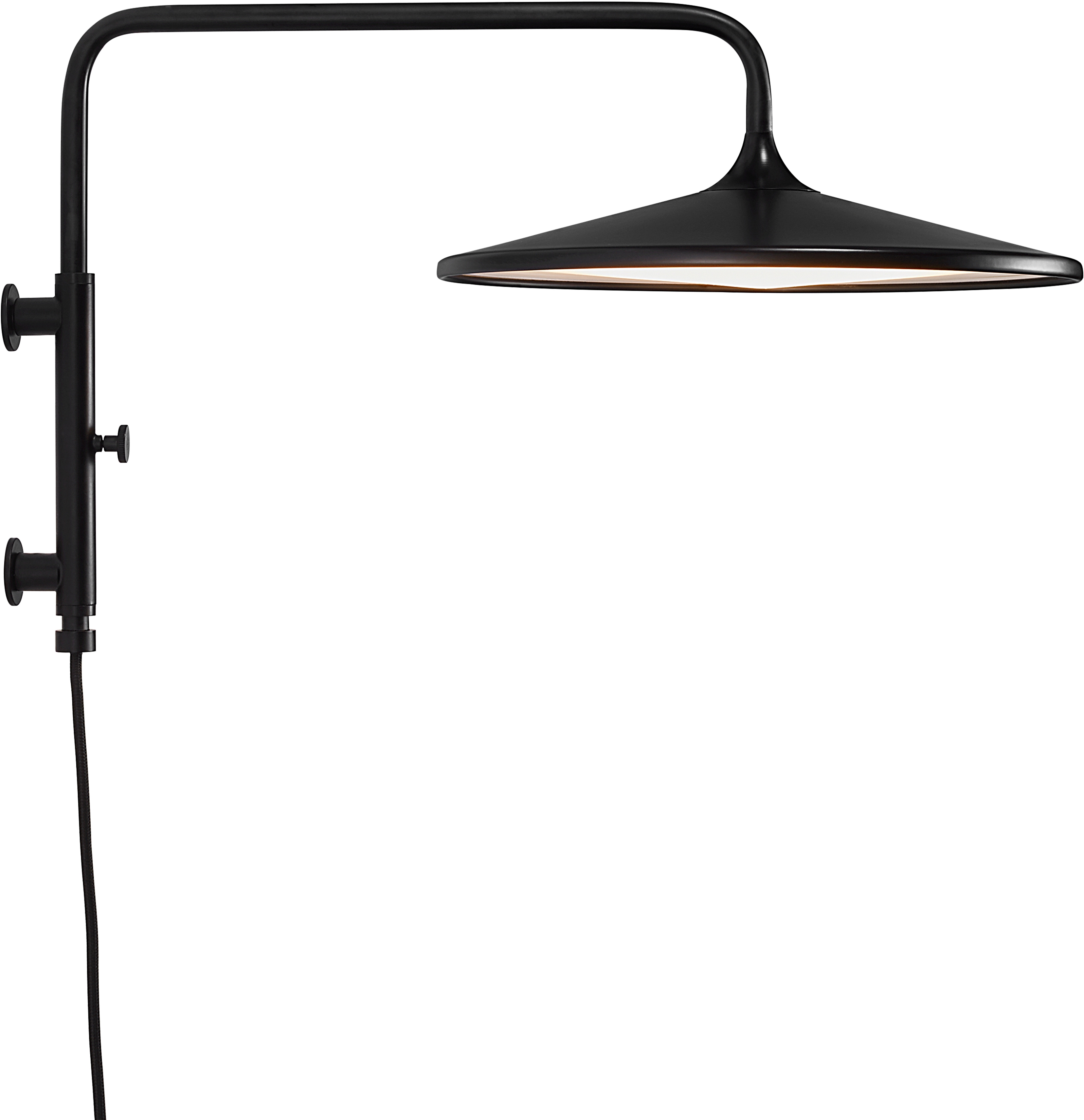 Nordlux LED Wandleuchte BALANCE, LED-Modul, Warmweiß, inkl. LED Modul + Dimmer