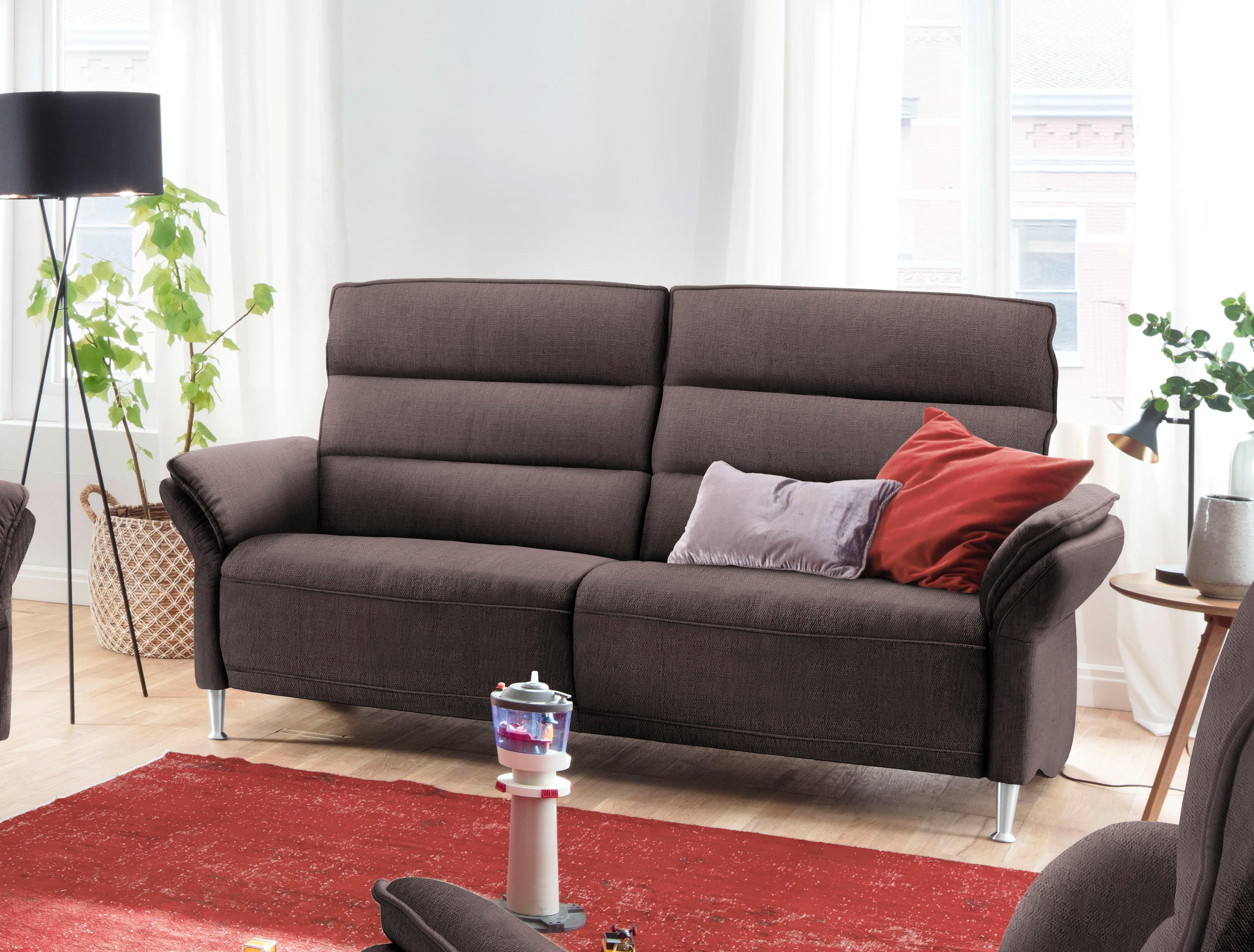 Places Of Style 3-Sitzer Dover wahlweise mit Relaxfunktion links oder rechts | Wohnzimmer > Sofas & Couches > 2 & 3 Sitzer Sofas | Leder - Microfaser - Stoff | Places Of Style