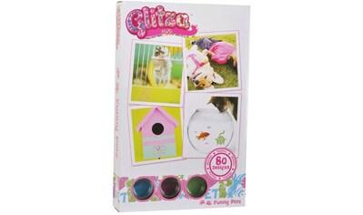 Knorrtoys® Kreativset »GLITZA Starter Set Funny Pets«, (Set), Für alle Oberflächen... kaufen