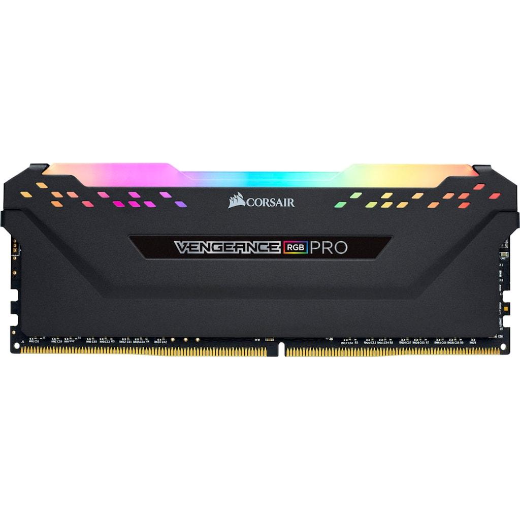 Corsair Arbeitsspeicher »Vengeance RGB Pro 64GB (4x16GB) DDR4 3000MHz«