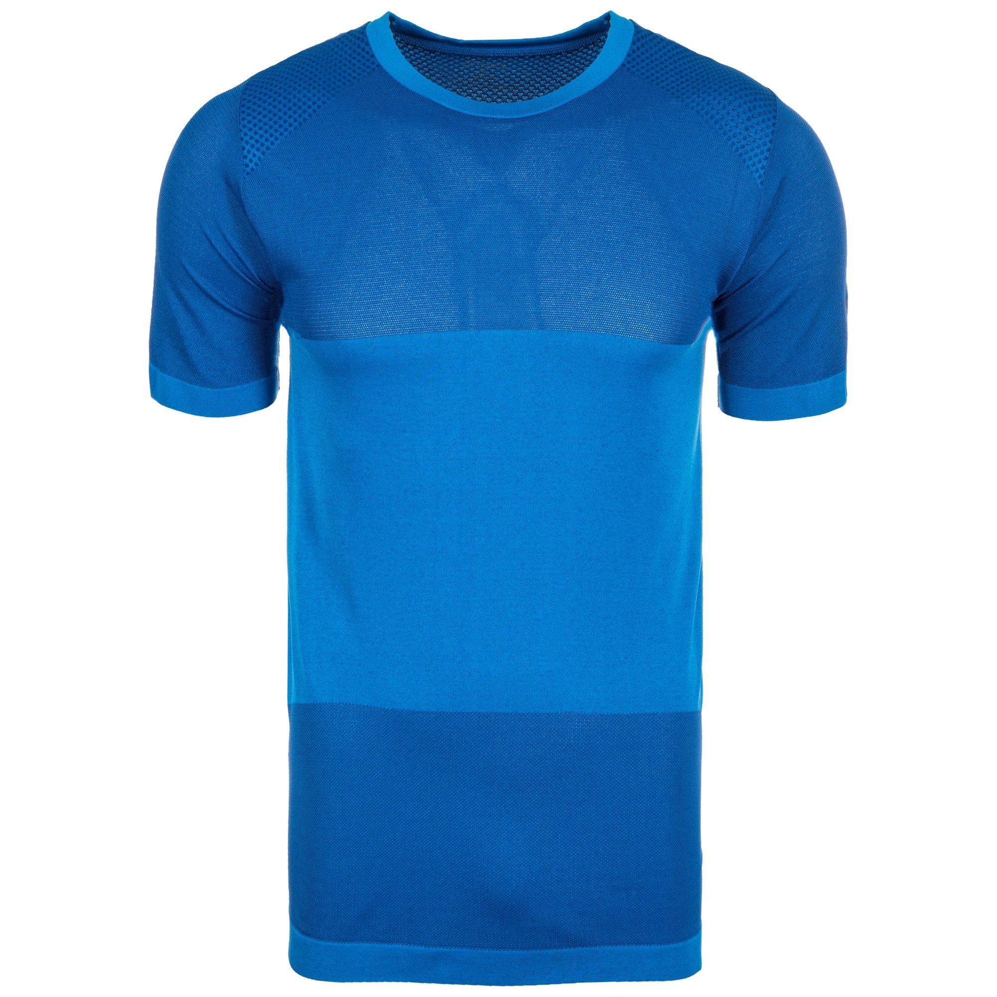 Asics Laufshirt Fuzex Seamless | Sportbekleidung > Sportshirts > Laufshirts | Blau | Asics