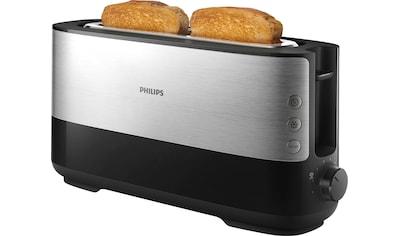 Philips Toaster »HD2692/90«, 1 langer Schlitz, für 2 Scheiben, 950 W kaufen