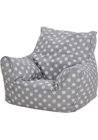 Knorrtoys® Sitzsack »Dots, grey« kaufen