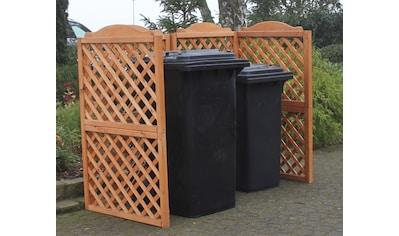 PROMADINO Mülltonnenabtrennung »Rex«, für 2 x 240 l kaufen