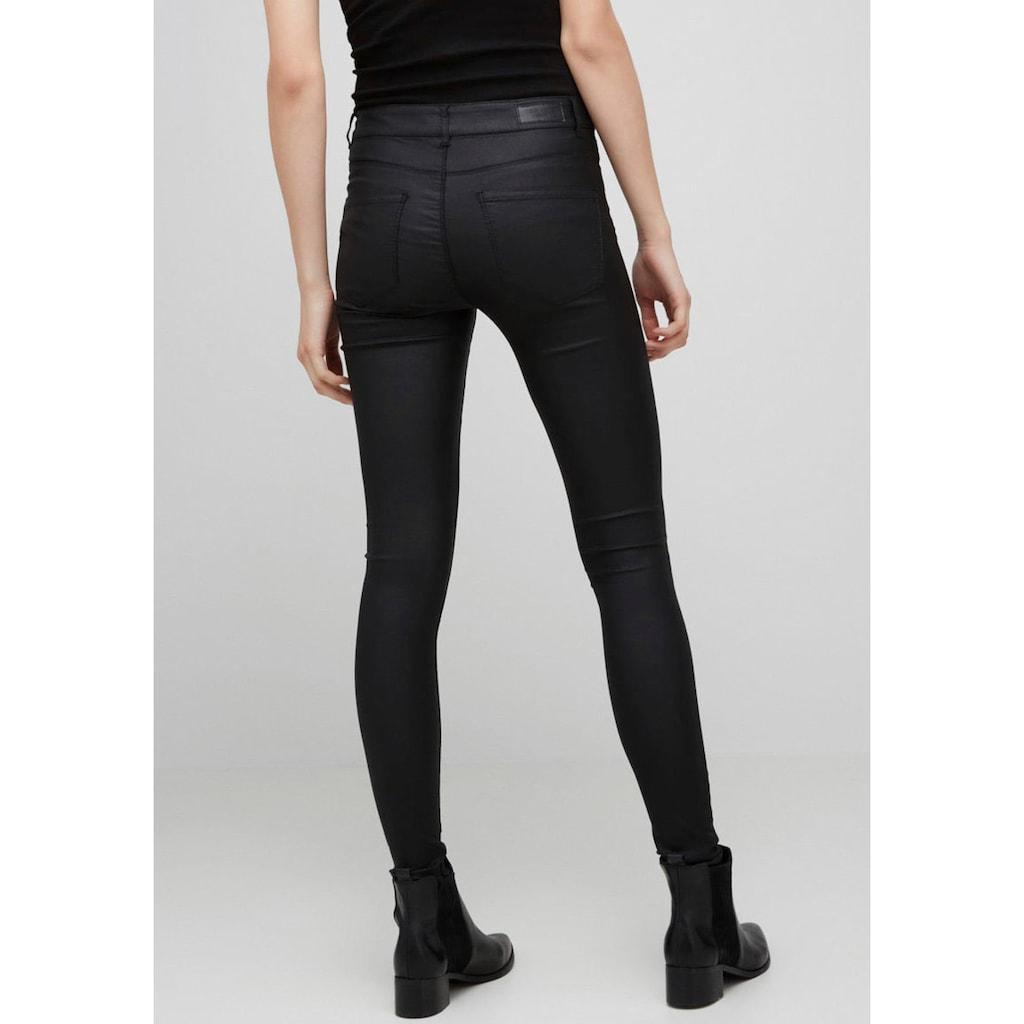 Vero Moda Stretch-Hose »VMSEVEN COATED«