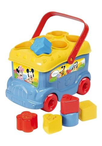 "Clementoni® Spielbausteine ""Baby Mickey Sortierbus"", Kunststoff kaufen"