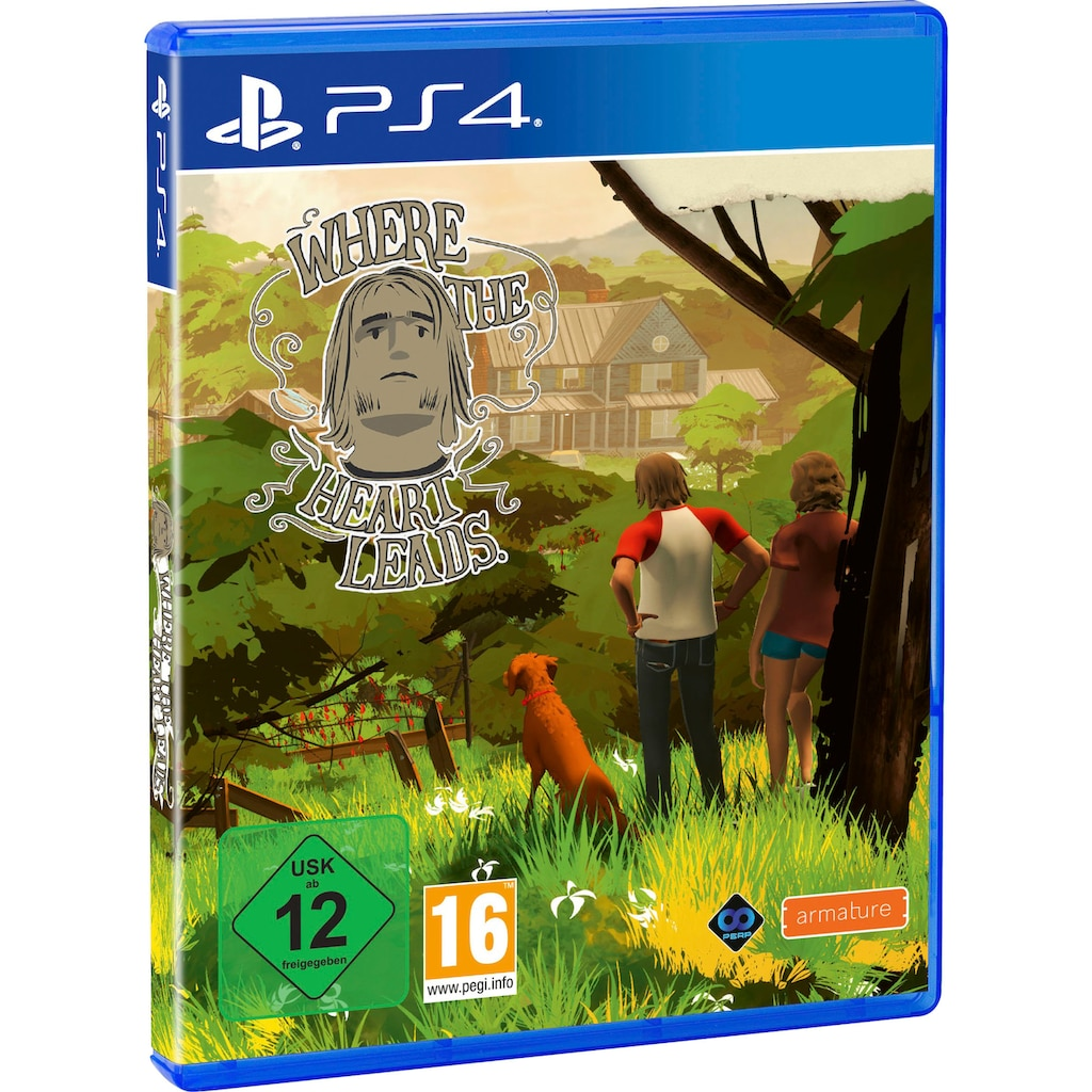 Spiel »Where the Heart Leads«, PlayStation 4
