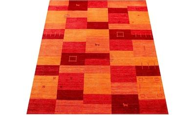 Paco Home Teppich »Gabbeh 304«, rechteckig, 14 mm Höhe, handgefertigter Kurzflor,... kaufen