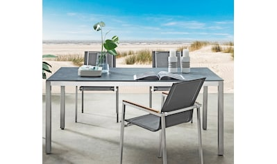 DESTINY Tisch »Sao Paulo«, Edelstahl, 180/210x100 cm kaufen