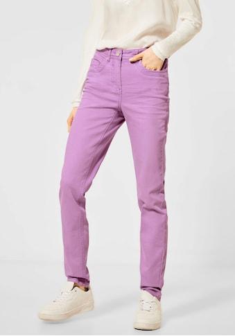 Cecil Slim-fit-Jeans »Style Toronto«, mit Triple-Ziernähten kaufen