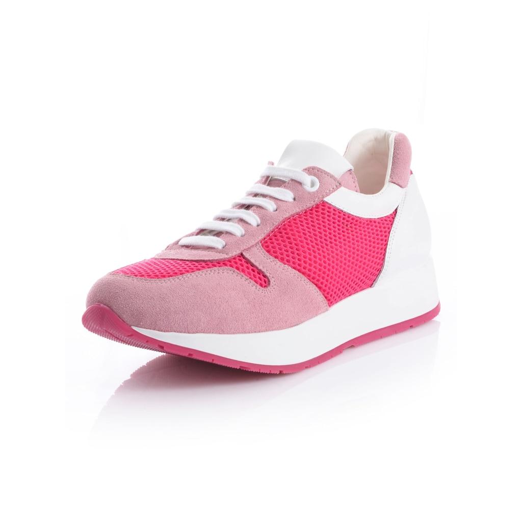 Alba Moda Sneaker, in femininer Farbstellung